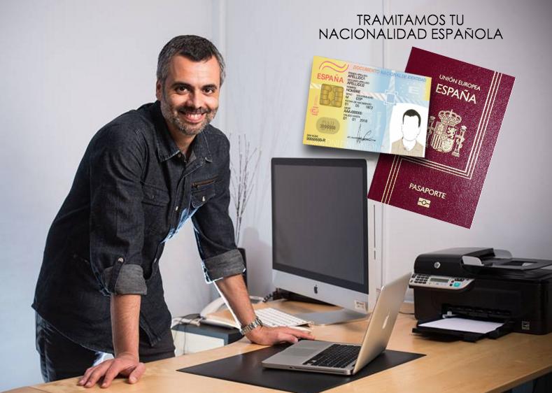 TRAMITAMOS TU NACIONALIDAD ESPAOLA